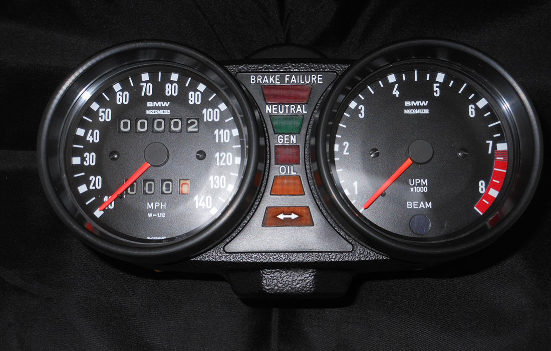 BMW R100 Instrument Panel