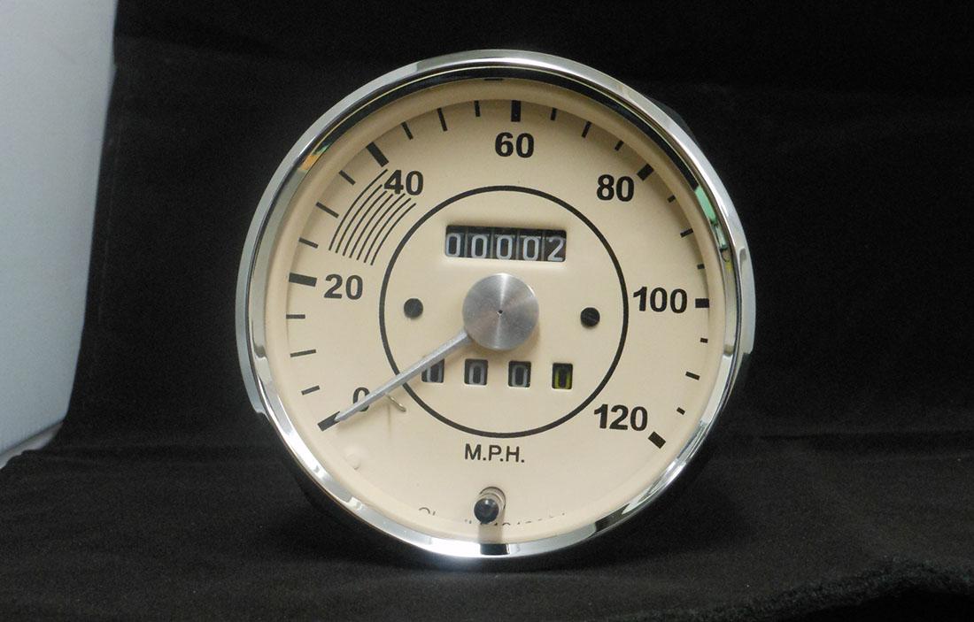 Porsche 356 Replica Speedometer