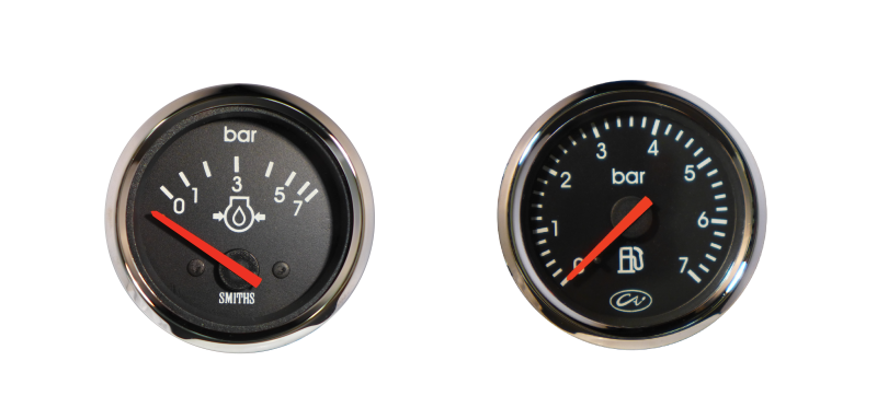 International Oil Pressure Gauge