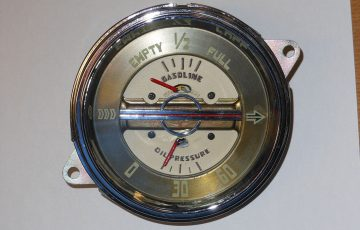 1940 Buick Fuel & Oil Pressure Gauge