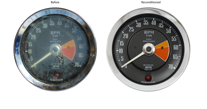 MG MGB Tachometer Reconditioned