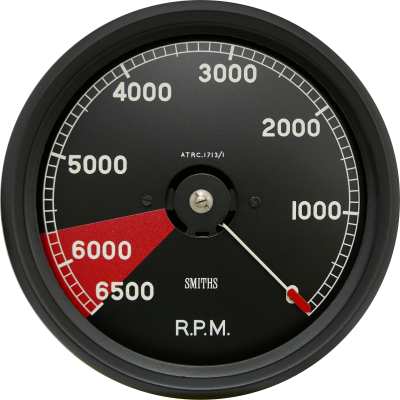 C Type Jaguar Replica Tachometer