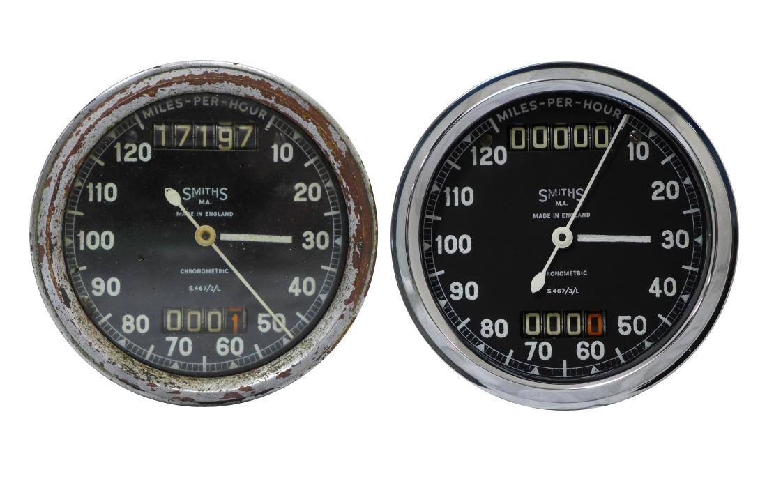 Smiths Chronometric Speedometer