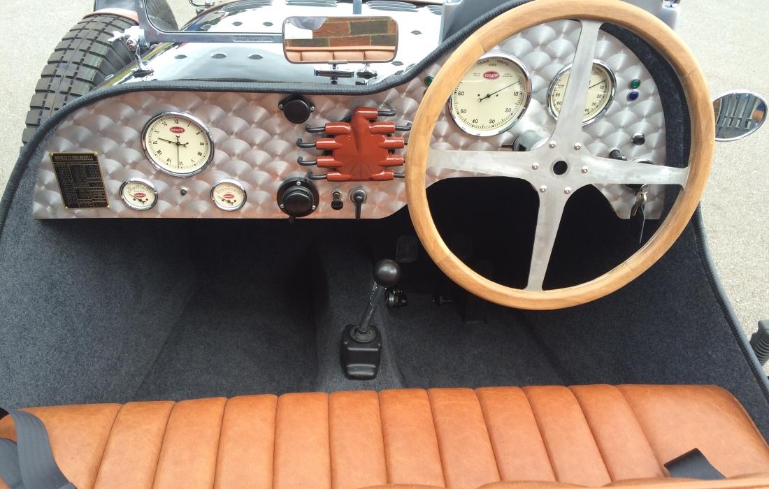 Bugatti Type 35 Gauges