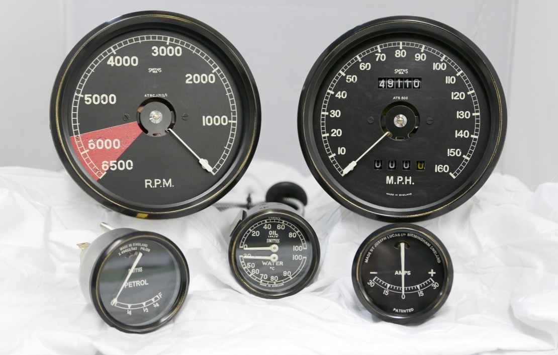 Jaguar C Type Instruments